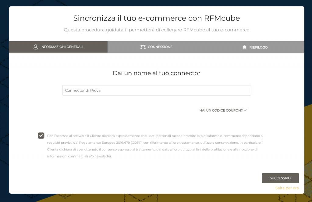 Integrare una piattaforma Ecommerce con Rfmcube